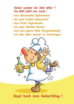 Birthday cook - baldmatthias  - Geburtstag