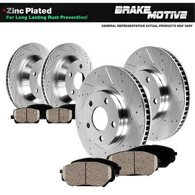 Details About Front Rear Disc Rotors And Ceramic Brake Pads For 2018 Nissan Maxima In 2020 Ceramic Brake Pads Ceramic Brakes Brakes And Brake Parts