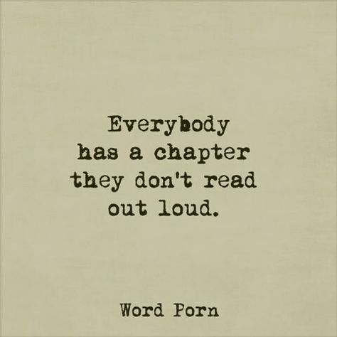 Some people have many chapters that should be read silently and that's okay.