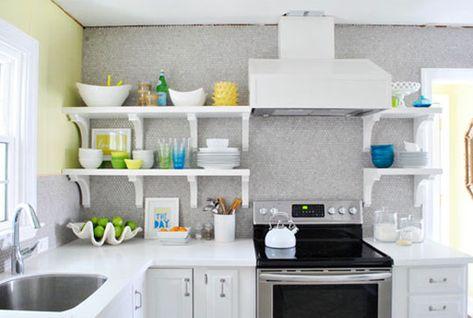Open Shelf Love Dream Kitchen Kuche Kuchen Renovieren Ideen