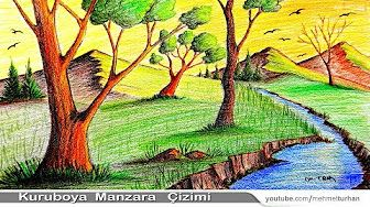 Kuruboya Manzara Resmi Resimler Manzara
