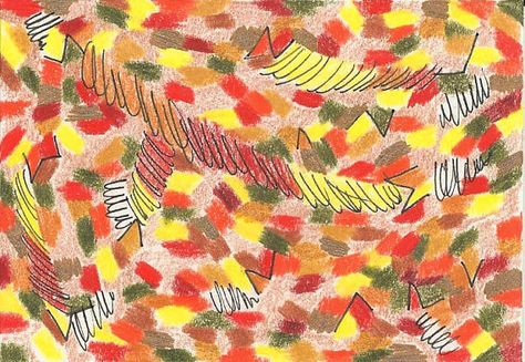 Falling Leaves leaves fall autumn leaf yellow red by LindaTalbott,