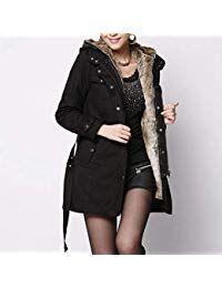 Wool Liner Women's Windbreaker Long Section Thick Coat