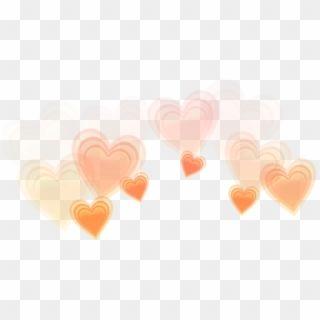 Orange Orangehearts Hearts Heartcrown Crown Heart Orange Heart Crown Png Transparent Png Crown Png Crown Clip Art Crown Tumblr