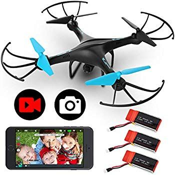 Amazon Com Drones With Camera For Adults Or Kids U45w Blue Jay