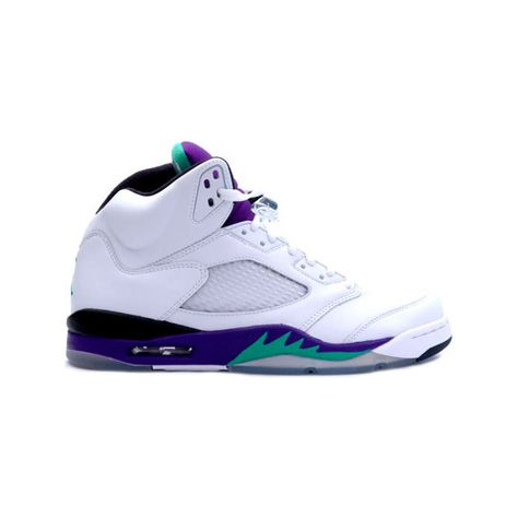 detailed look 349c1 727e9 Air Jordan 5 V ❤ liked on Polyvore featuring shoes, jordans and sneakers