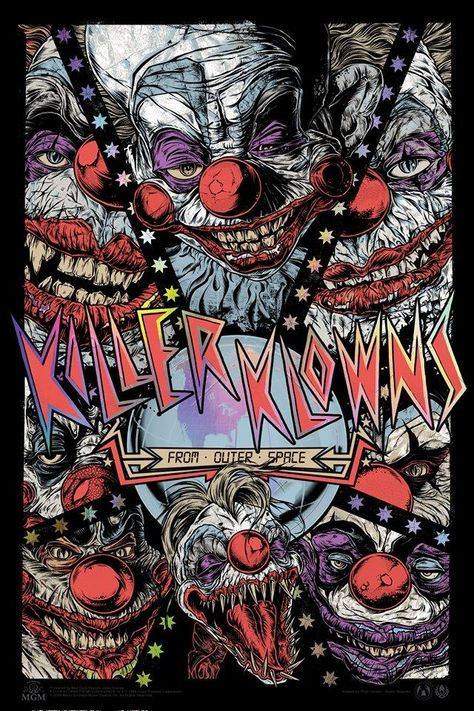 Killer Klowns From Outer Space - Quasar Foil Variant - RC