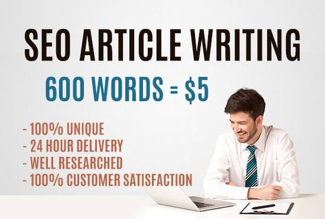 I will write a blog or SEO article up to 600 words
