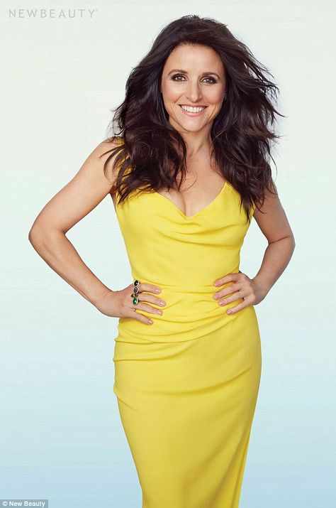 True confessions: Julia Louis-Dreyfus admitted to the spring/summer issue of NewBeauty mag...