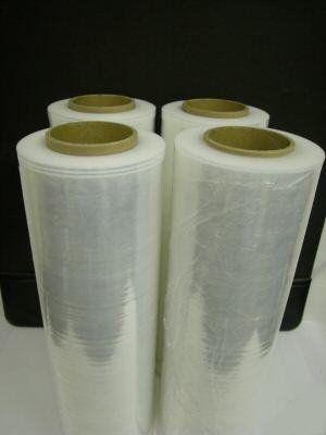 "18/"" X 1500FT 4 ROLLS x80 Gauge DURABLE Pallet Wrap Stretch Film Shrink Hand WRAP"