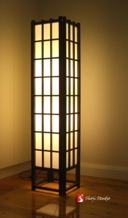 Japanese Floor Lamp Handmade Excellence In Various Finishes Shojifloorlamp Japaneselighting Japaneselampdesign