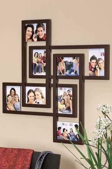 25 Best Diy Picture Frame Ideas Beautiful Unique And Cool Diy Photo Frames Diy Picture Frames Home Decor Furniture
