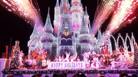 Video Celebrate the Season show at Mickey\u0027s Very Merry Christmas