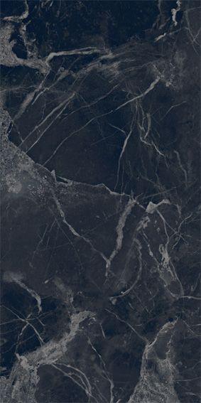 Black Marble Look Large Format Porcelain Tile In 2020 European Tiles Porcelain Tile Unique Flooring
