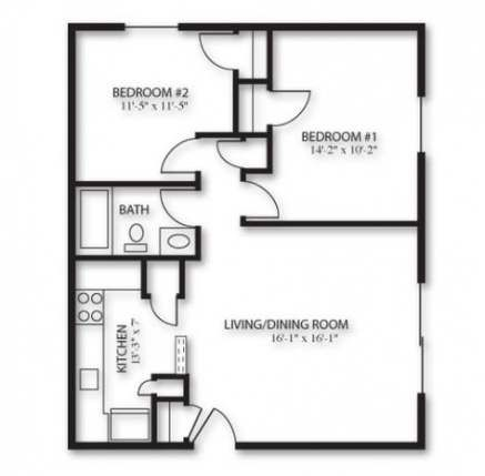 57 Ideas Garden Design Layout Floor Plans Bath For 2019 Floor Plan Design Garage Floor Plans Apartment Floor Plans