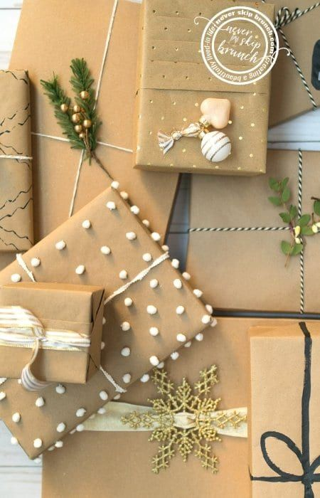 8 Elegant Christmas Gift Wrap Ideas Must Know Gift Wrapping Tips Never Skip Brunch Christmas Gift Wrapping Diy Holiday Gift Wrapping Xmas Gift Wrap