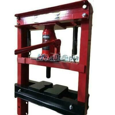 Hydraulic Shop Press Floor Press 12 Ton H Frame Free Shipping Red High Quality In 2020 Hydraulic Shop Press H Frame Shop Press