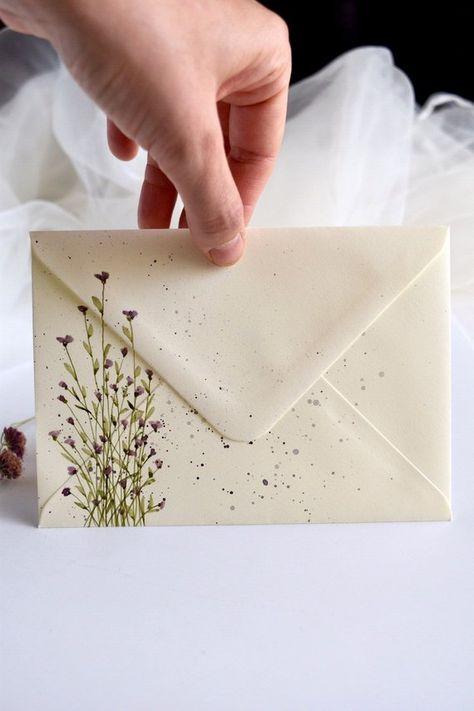 Mail Art Envelopes, Invitation Envelopes, Wedding Invitation, Paper Art, Paper Crafts, Pen Pal Letters, Alphabet Letters, Envelope Art, Envelope Design