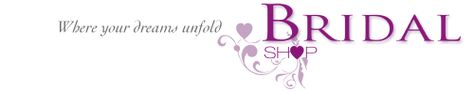 Amazing Gowns from Bridal Shop based in Romford 01708 743999. Bridal Shop Logo and Tag Line.