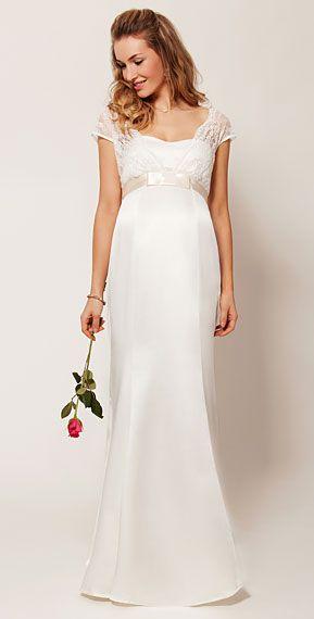 Discount 2015 New Sheer Half Sleeves Jewel Neckline Lace Appliques Maternity Wedding Dresses Zipper Back Floor Length Bow Sash Bridal Gown Plus Siz