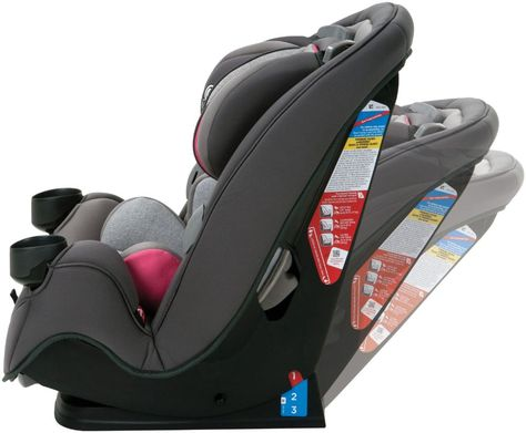 Everest Pink Safety 1st Grow and Go 3-in-1 Convertible Car Seat