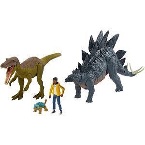 Jurassic World Camp Adventure Set Mattel Jurassic World Adventure Camping Dinosaurs Figures