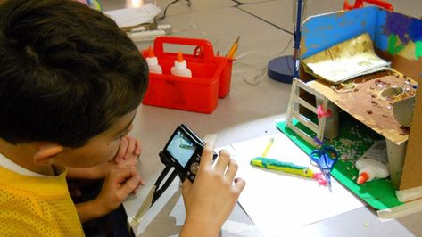 When Students Get Creative With Tech Tools, Teachers Focus on Skills