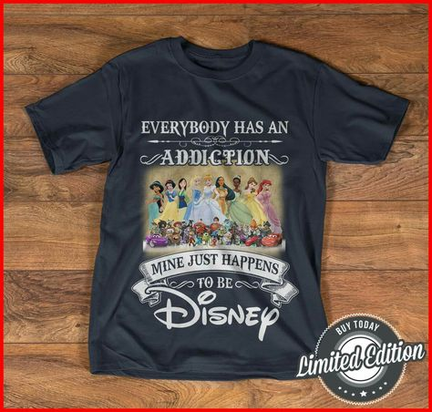 Funny Disney All Characters Princess Retro T Shirt 197