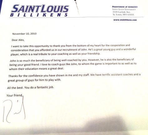 thank you letter from lacrosse coach parents just buse free sample - thank you note to parents