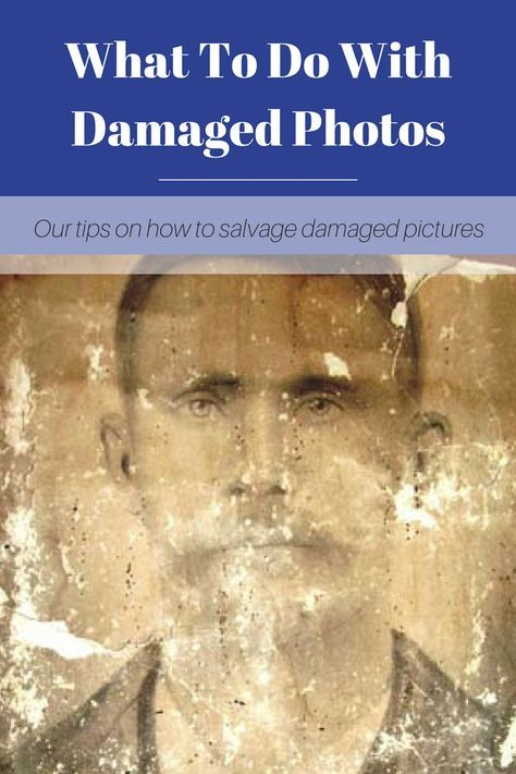 Time can take a toll on old photographs. From humidity to water damage, here are our tips for how to fix your damaged family photos. Old Family Photos, Old Photos, Family Pictures, Edit Photos, Genealogy Organization, Organizing, Family Tree Research, Photo Repair, Foto Fun