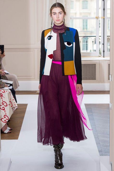 Schiaparelli Fall 2017 Couture Fashion Show Collection