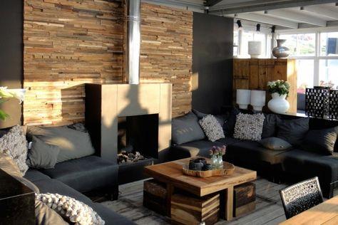 26 Wandpaneele Aus Holz Und Exklusive 3d Wandverkleidung Wohnzimmer Ideen Modern Rustikales Wohnzimmer Dekor
