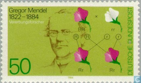 Postage Stamps - Germany, Federal Republic [DEU] - Gregor Johann Mendel