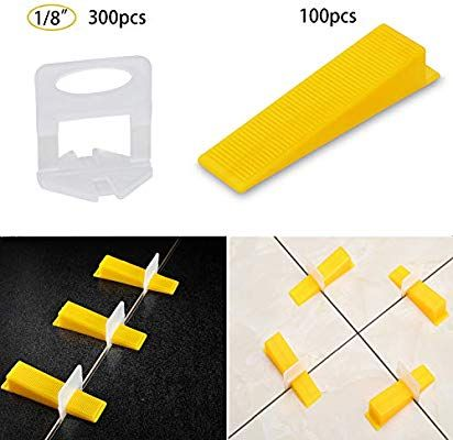 Tile Leveling System Tiles Leveler Spacers Lippage Free Tile And Stone Installation For Pro And Diy 300 Piece In 2020 Tile Installation Tile Leveling System Ogori