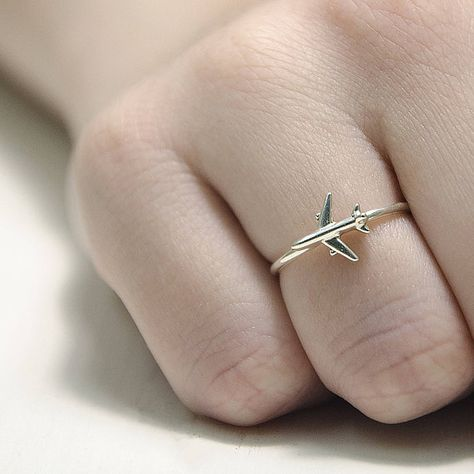 Travel Ring Airplane Jewelry Ring Gifts For Pilots Infinity Symbol Ring Si . - Travel ring airplane jewelry ring gifts for pilots Infinity symbol ring Silv … – Reisering - Cute Jewelry, Jewelry Gifts, Silver Jewelry, Silver Rings, Jewellery Box, Jewellery Shops, Jewlery, Jewelry Stores, Jewelry Ideas