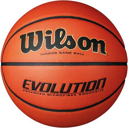 Wilson Evolution Indoor Game Basketball Intermediate 28 5 Walmart Com Wilson Basketball Basketball Workouts Indoor Basketball