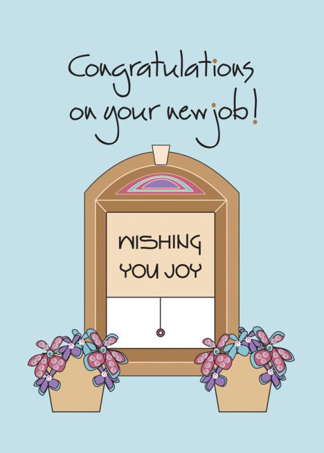 Congratulations On Your New Job Wishing You Joy Card Ad Ad Job Congratulations Wishing Card New Job Wishes Job Wishes Joy Cards