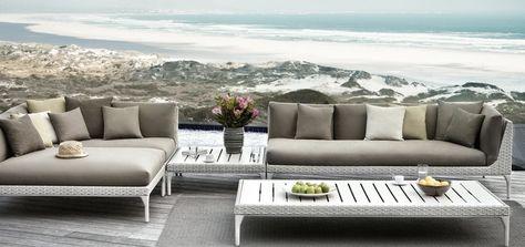 Dedon Mu Furniture Outdoor Sofa Modular Design