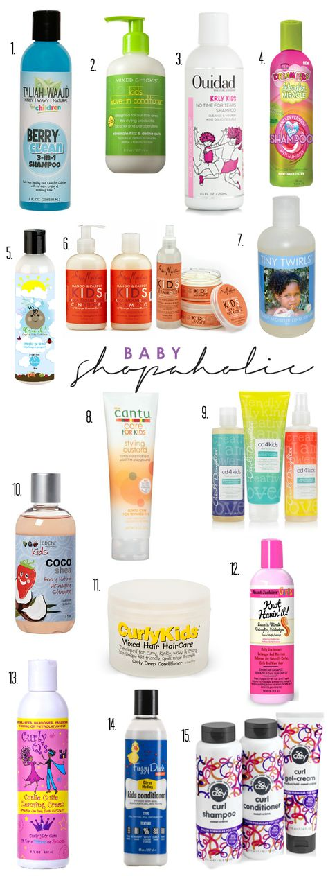 top 15 hair care brands for curly and kinky haired babies and kids