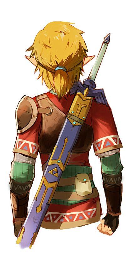 I Love Link S Ponytail Legend Of Zelda Breath Legend Of