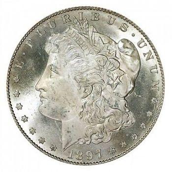 1897 S Morgan Silver Dollar Collectible Morgan Silver Dollars At Wholesale Prices The Coin Shop Grade Brilliant Uncirculated Bu Morgan Silver Dollar Silver Dollar Silver Dollar Prices