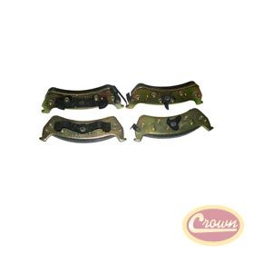 Rear Disc Brake Pad Set Replaces Part 4883717aa Fits Jeep