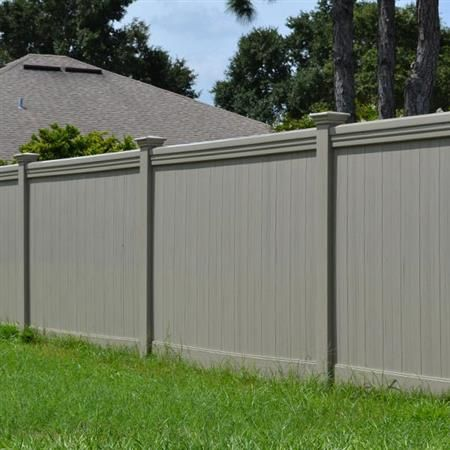 Vinyl Privacy Fence Maxwell Pvc Fence Danielle Fence Outdoor Living Located In Mulberry Fl Pvc Fence Vinyl Privacy Fence Outdoor Living