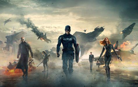 Captain America: The Winter Soldier [Wallpaper] by PhetVanBurton on DeviantArt