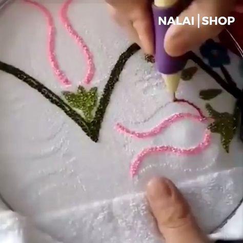 Magic Embroidery Pen - Angelika Merten - #Angelika #Embroidery #magic #Merten #Pen
