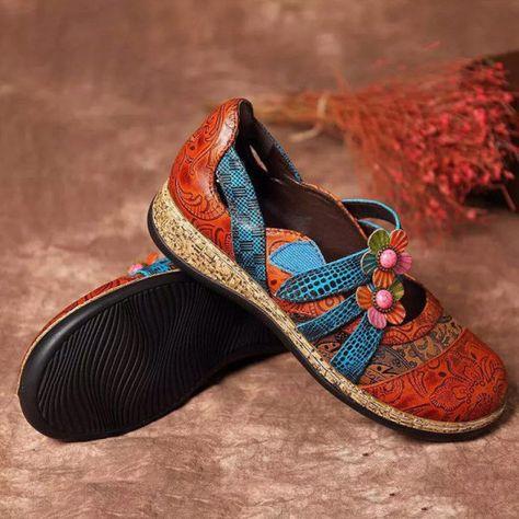 Bohemian Round Toe Casual Date Sandals in 2020   Casual date