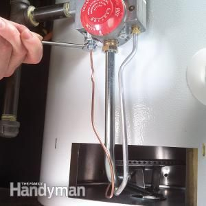 How To Replace A Water Heater Thermocouple Plumbing