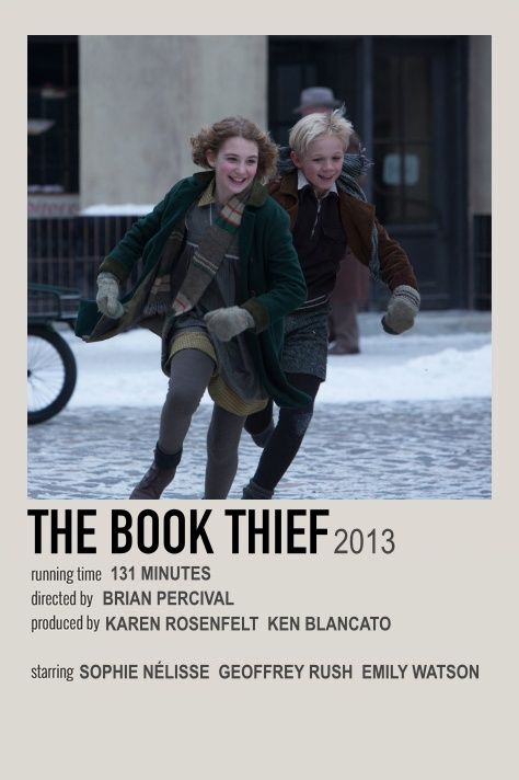 the book thief movie polaroid