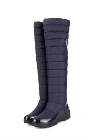 3392bc7bac5c0 women warm knee high snow boots | Boots | Boots、Snow boots 和 High ...