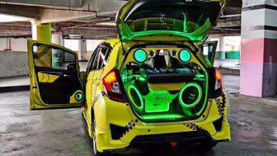 Kumpulan Gambar Modifikasi Audio Mobil Keren Terbaru 2020 Modifikasi Mobil Mobil Honda